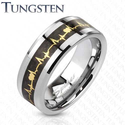 Spikes Tungsten Ring